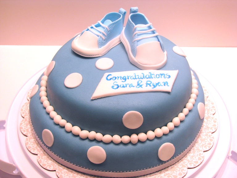 babyshower tårta recept