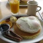 Riktig amerikansk frukost