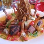 Lt. Dan's drunken shrimps/Bubba Gump