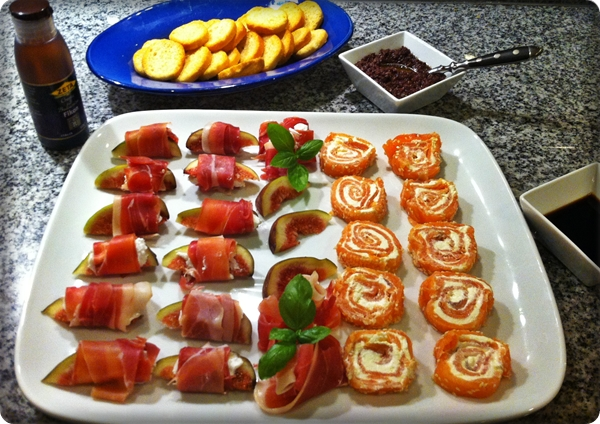 tapas buffe recept